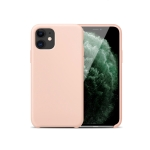 For iPhone 11 hoco Silicone + PC Protective Case(Pink)