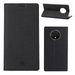 For OnePlus 7T ViLi Shockproof TPU + PU Horizontal Flip Protective Case with Card Slot & Holder(Black)