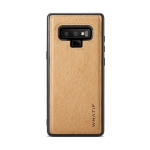 For Galaxy Note 9 WHATIF Kraft Paper TPU + PC Full Coverage Protective Case(Brown)