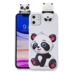 For iPhone 11 Shockproof Cartoon TPU Protective Case(Panda)