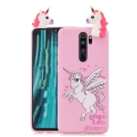 For Xiaomi Redmi Note 8 Pro Shockproof Cartoon TPU Protective Case(Unicorn)