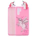 For Huawei P30 Pro Shockproof Cartoon TPU Protective Case(Unicorn)