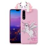 For Huawei P20 Shockproof Cartoon TPU Protective Case(Unicorn)