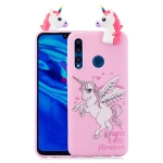 For Huawei Y7 (2019) Shockproof Cartoon TPU Protective Case(Unicorn)