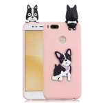 For Xiaomi Mi 5X / A1 3D Cartoon Pattern Shockproof TPU Protective Case(Cute Dog)