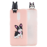 For OnePlus 7 Pro 3D Cartoon Pattern Shockproof TPU Protective Case(Cute Dog)
