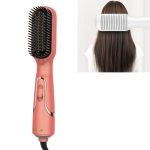 Ufree U-716 Multifunctional Negative Ion Hot Air Comb Blow Dry Straight Hair Conditioner 3-in-1 Thermostatic Hair Dryer, CN Plug(Orange)