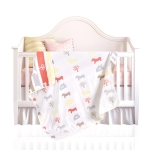 Baby 6-Layer Cotton Gauze Quilt Children Towel Blanket, Size: 115 x 120CM (Pony)