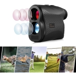 5-1200P Handheld Golf Laser Distance Measuring Instrument Telescope Range Finder Distance Measurer, 1200m