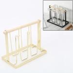 Iron Kitchen Cup Holder Drain Shelf(Gold)