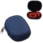 Portable EVA Shockproof Waterproof In-ear Sport Bluetooth Earphone Protective Bag Storage Box (Blue)