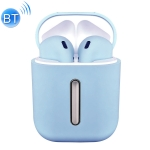 Q8L TWS Bluetooth 5.0 Touch Wireless Bluetooth Earphone with Magnetic Adsorption Charging Case, Supports Power Display & HD Calling (Blue)
