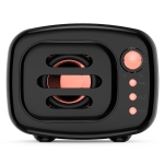 B11 Bluetooth 5.0 Retro Style Wireless Bluetooth Speaker, Supports Hands-free Calling & 32GB TF Card & 3.5mm Audio Jack (Black)