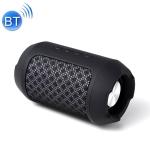 KL-YP02 KUULAA Wireless Bluetooth Speaker Portable Waterproof Outdoor Speakers Box(Black)