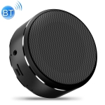 A8 Portable Wireless Bluetooth Speaker Mini Touch Screen Subwoofer Voice Box (Black)