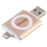 iDiskk U003 32GB USB + 8 Pin Interface USB Flash Drive