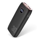 KUULAA KL-YD13 30000mAh Portable LED Digital Display Fast Charging Power Bank(Black)