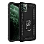 Armor Shockproof TPU + PC Protective Case for iPhone 11, with 360 Degree Rotation Holder (Black)