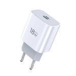 TOTUDESIGN Minimal Series CACQ-05 PD 18W Single USB-C / Type-C Port Travel Charger, EU Plug