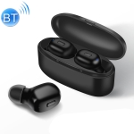 K03 TWS Bluetooth 5.0 Wireless Headset with Charging Box (Black)