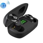 P10 TWS Bluetooth 5.0 Wireless Headset with Charging Box (Black)