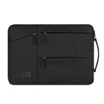 WIWU 12 inch Large Capacity Waterproof Sleeve Protective Case for Laptop (Black)