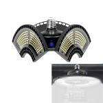 60W 6000K White Light Waterproof Deformable Folding Garage Light LED UFO Mining Lamp, Light Perception Version