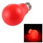 7W E27 2835 8LEDs No Strobe LED Energy Saving Bulb, Light Color: Red Light, AC 85-265V