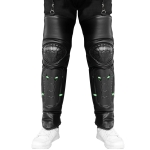 CS-864A1 Motorcycle Cold Protection Velvet Warm Knee Pads Protector Cover(Black)