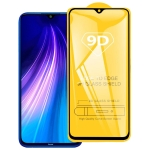 For Xiaomi Redmi Note 8T 9D Full Glue Full Screen Tempered Glass Film