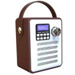 DAB-H6 Portable Multifunctional DAB Digital Radio, Support Bluetooth, TF Card, U Disk, MP3