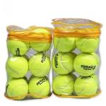 12 PCS Tennis Training Ball with Ball Bag