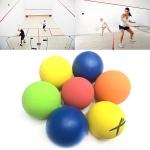 American Standard Racquetball Rubber Hollow Ball, Diameter: 5.5cm, Random Color Delivery