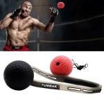 BONSEM Head-mounted PU Leather Fight Club Training Adults Boxing Elastic Ball