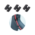 For Xiaomi M365 Electric Scooter Brake Cable Clasp Manager Fixed Clip Organizer (Black)