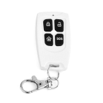 DY-YK100A 3V 433MHZ / 315MHZ Wireless Remote Control for Alarm (White)