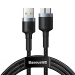 Baseus Cafule Series 2A USB 3.0 Male to Micro-B Hard Disk Adapter Cable, Length: 1m
