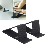 NILLKIN ZN002 Ascent Mini Stand Folding Portable Computer Heat Dissipation Bracket, Size: 39.5×14.7×0.47cm (Black)