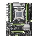 X79P DDR3 Desktop Computer Mainboard, Support for Intel E5 & E5V2 & Core i7 Series 2011 Pin Processor, Discrete Graphics