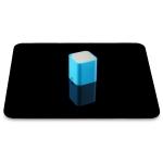 PULUZ 30cm Photography Acrylic Reflective Display Table Background Board (Black)
