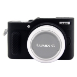 PULUZ Soft Silicone Protective Case for Panasonic Lumix GF10(Black)