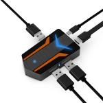 X10 HDMI + Micro USB + USB Interface 4K HD Mobile Game Expander Same Screen Device for PUBG