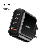 USMAS T23 QC3.0 PD3.0 Digital Fast Charging Charger (EU Plug)
