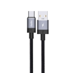 TOTUDESIGN Speedy Series BT-001 5A USB-C / Type-C Interface Data Sync Fast Charge Data Cable, Cable Length: 2m (Grey)