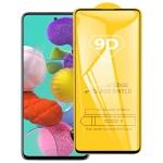For Galaxy A51 9D Full Glue Full Screen Tempered Glass Film