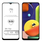 For Galaxy A50s 9H 5D Full Glue Full Screen Tempered Glass Film