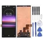 Original LCD Screen and Digitizer Full Assembly for Sony Xperia 1 (Black)