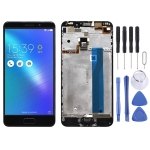 LCD Screen and Digitizer Full Assembly with Frame for ASUS Zenfone 3S Max ZC521TL X00GD (Black)