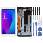LCD Screen and Digitizer Full Assembly with Frame for Lenovo A5000