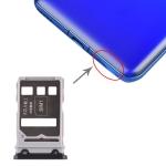 SIM Card Tray + SIM Card Tray for Huawei Honor V30 Pro / Honor V30 (Black)